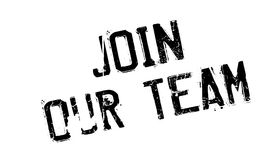 Join Our Team rubber stamp Royalty Free Stock Photos