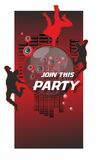 Join this party vector illustration