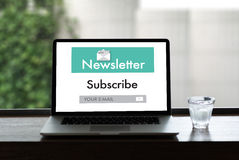 Join Register Newsletter to Update Information and Subscribe Reg. Ister Member Stock Photography