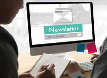 Join Register Newsletter to Update Information and Subscribe Reg Stock Image