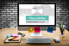 Join Register Newsletter to Update Information and Subscribe Reg Stock Images