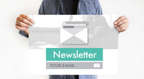 Join Register Newsletter to Update Information and Subscribe Reg. Ister Member Royalty Free Stock Photos