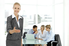 Join the staff Royalty Free Stock Photo