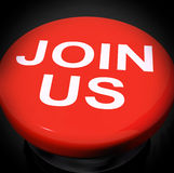 Join Us Switch Shows Joining Membership Register Royalty Free Stock Photography