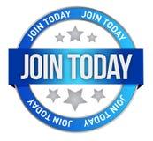Join us today. Illustration design over a white background vector illustration