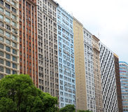 Joined tall buildings Stock Image