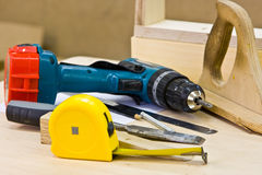 Joiner's tools Stock Photos