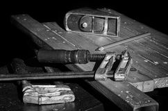 Joiner`s tools. Royalty Free Stock Photography