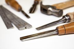 Joiner tools Stock Photo
