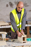 Joiner at work Stock Photography