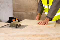 Joiner in the workshop Stock Photography