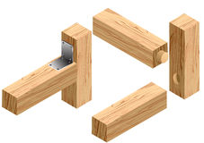 Joinery connections1 Stock Photography