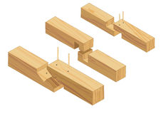 Joinery connections 2 Royalty Free Stock Photography