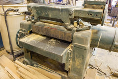 A joinery shop Stock Images