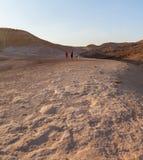 Joint active walk through the desert Stock Image