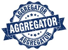 joint d'aggregator estampille Illustration Stock
