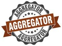 joint d'aggregator estampille Illustration de Vecteur