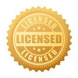 Joint d'or de vecteur de produit sous licence Photo stock
