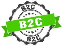 joint de b2c estampille Photographie stock libre de droits