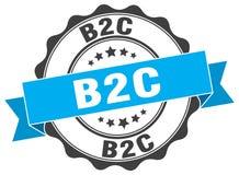 joint de b2c estampille illustration de vecteur