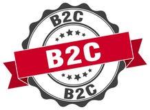 joint de b2c estampille Images stock