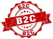 joint de b2c estampille illustration libre de droits