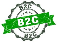 joint de b2c estampille Photo stock