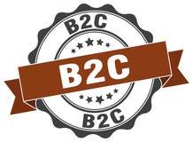 joint de b2c estampille Images libres de droits