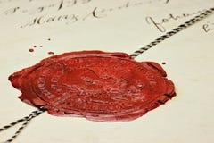 Joint 04 de cire Images libres de droits