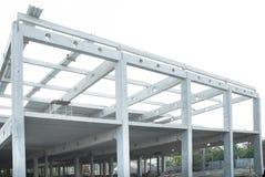 Joint de faisceaux et construction en béton d'acier Photos libres de droits