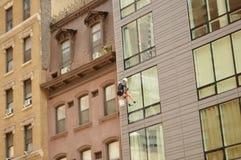 Joint de fenêtre dans la ville photo libre de droits