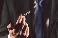 Joint de marijuana photos stock