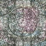 Joint de pentagramme de Jupiter Photographie stock libre de droits