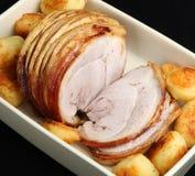 Joint de rôti de porc photo libre de droits
