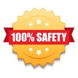 joint 100% de sécurité illustration libre de droits