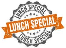 joint de special de déjeuner estampille illustration stock
