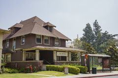 Joint Educational Project House of the University of Southern Ca. Los Angeles, JUN 4: Joint Educational Project House of the University of Southern California on Royalty Free Stock Images