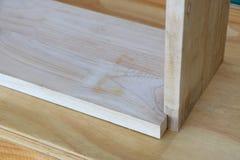 Joint en bois Photo libre de droits