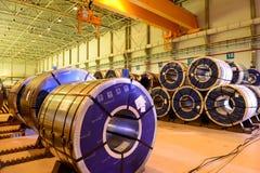 Joint enterprise Severstal-SSC-Vsevolozsk Stock Images