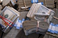 Joint et argent liquide Photographie stock libre de droits