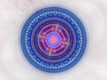 Joint galactique futuriste bleu illustration de vecteur