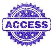Joint grunge de timbre d'ACCESS Illustration Stock