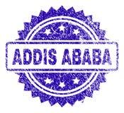 Joint grunge de timbre d'ADDIS ABABA Illustration Libre de Droits