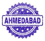 Joint grunge de timbre d'AHMEDABAD Illustration Libre de Droits
