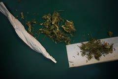 Joint Of Marijuana Royalty Free Stock Photography