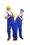 Joint measurement Royalty Free Stock Image