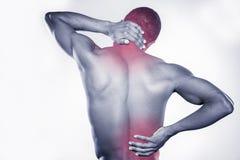 Joint pain. stock photo