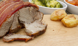 A joint of pork leg Stock Photography