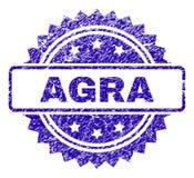Joint rayé de timbre d'ÂGRÂ illustration de vecteur