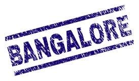 Joint texturisé grunge de timbre de BANGALORE illustration libre de droits